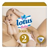 Couches taille 2 : 3-6 kg Lotus Baby