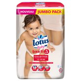 Culottes lotus baby t5 x50
