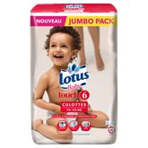 Culottes lotus baby t6 x50