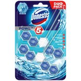 Bloc power 5 Domestos Duopack - x1