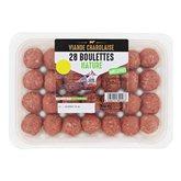 Boulettes de charolaise Nature - x28 - 700g