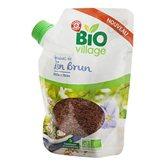 Graines de lin brun Bio Village 200g