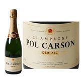 Pol Carson Champagne  Demi-sec - 75cl