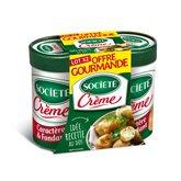 Société Fromage Roquefort  Crème 2x100g