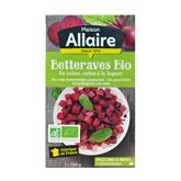 Allaire Betteraves cubes BIO Allaire 2x200g