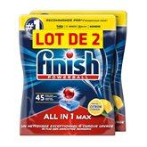 Finish Tablettes lave-vaisselle  Citron - x90 - 1,692kg