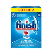 Finish Tablettes lave-vaisselle  Powerball - 2x60 - 2,236kg