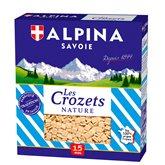Alpina Savoie Pâtes Crozet nature  400g