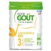 Good Goût Lait de croissance  Bio - dès 10 mois - 800g