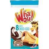 Whaou! Crêpes  Chocolat/Coco x8 - 256g