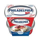 Philadelphia Fromage nature Philadelphia 2x300g offre spéciale