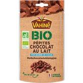 Vahiné Pépites chocolat au lait  Bio - 100g