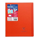 Clairefontaine Cahier KoverBook Clairefontaine Rouge - 96 pages - 17x22cm