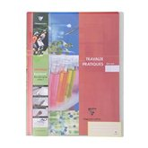 Clairefontaine Cahier TP Clairefontaine Rouge - 64 pages - 24x32cm