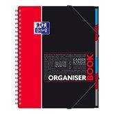 Oxford Cahier Organiserbook Oxford Rouge - 24.5x31cm