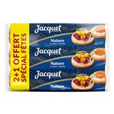 Jacquet Toasts ronds nature  750g