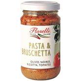 Florelli Sauce pour pâtes Florelli Olive Ricotta Tomates - 190g
