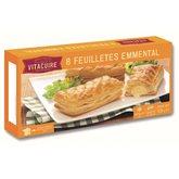 Vitacuire Feuilleté friand emmental  x8 - 650 g