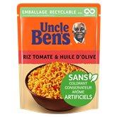 Uncle Ben's Riz express 2min Uncle Ben's Tomate huile d'olive - 250g