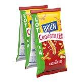 Belin Croustilles  Cacahuète - 4x138g
