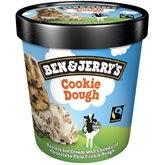 Ben & Jerry's Crème glacée  Vanille et Cookie Dough - 438g