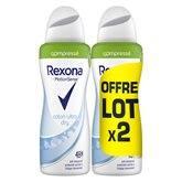 Rexona Déodorant spray  Women coton - 2x100ml