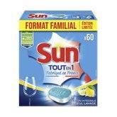 Sun Tablette lessive tout en 1  Citron - 1.05kg