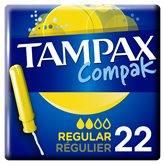 Tampax Tampons Compak  Régulier - x22