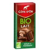 Côte d'Or Tablette Bio Côte d'Or Chocolat au lait - 150g