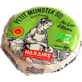 Haxaire Fromage Munster Bio  AOP - 220g