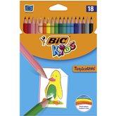 Bic Crayons de couleur  Kids Tropicolors 17.5cm - x18