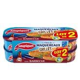 Saupiquet Maquereaux grille  Barbecue - 2x120g