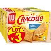 LU Cracottes LU céréales complètes 3x250g