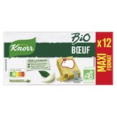 Knorr Tablette bio boeuf Knorr Maxi format - x12