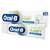Oral B Dentifrice Oral B Gencives Purity nettoyage intense - 75ml