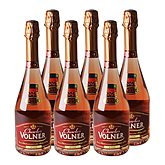 Charles Volner Vin mousseux  Rosé - 12%vol - 6x75cl