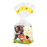 Chocolat lait et blanc Abtey Mous et Tache + oeufs 190g